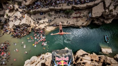Redbull cliff diving 2015 – Malcesine et Bilbao