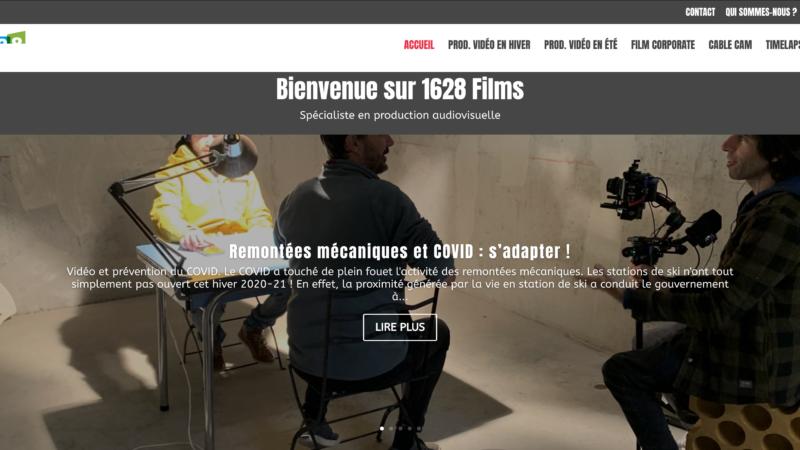 Un nouveau site pour 1628films !